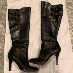 Cole Han Air Georgina Knee High Leather Boot